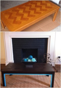Turned down for what? Coffee Table makeover